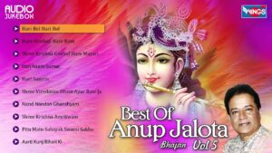 Read more about the article Top 10  Anup Jalota  Krishna Bhajans | Best Of Anup Jalota Songs, Vol. 5 | Hindi Bhakti Songs