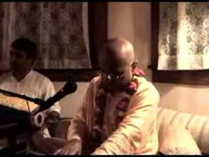 Read more about the article Bhakti Charu Swami Evening Bhajan